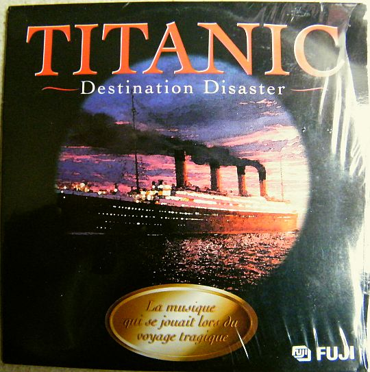 recto du CD sampler 6 titres Titanic - Destination disaster