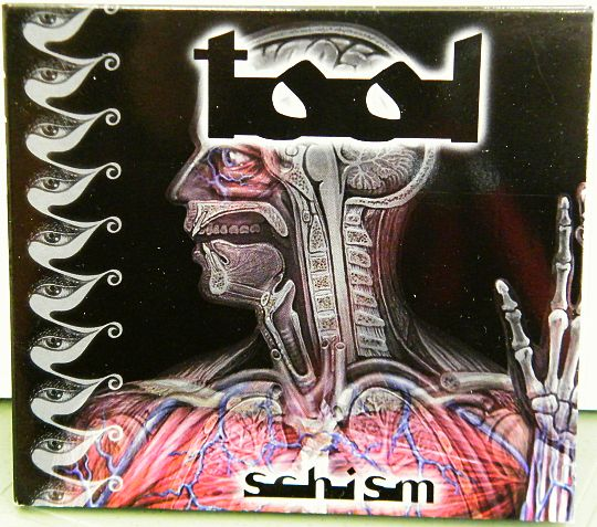 recto du Digipak Collector promo de TOOL - Schism
