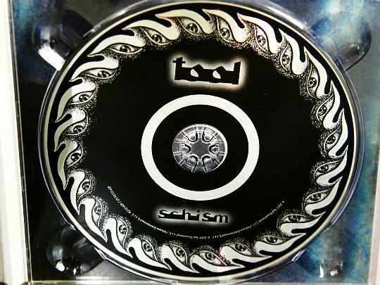 CD monotitre Collector de TOOL - Schism