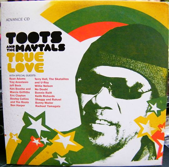 recto du CD Collector promotionnel advance de Toots and the Maytals - True love