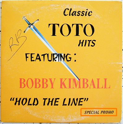 CD promo Bobby Kimball - Classic Toto hits, hold the line