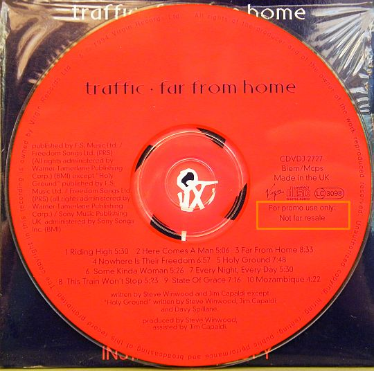 cd Traffic - far from home