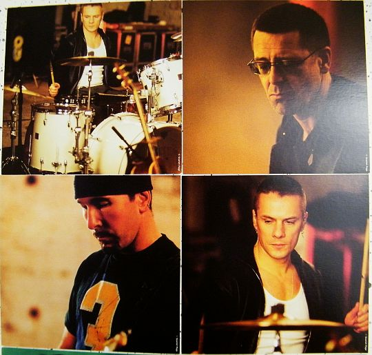 maxi CD collector de U2 avec photos