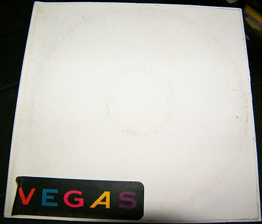 pochette recto en plastique souple du cd sampler promotionnel vente interdite du groupe VEGAS
