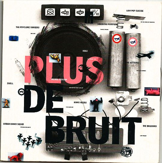 recto du CD sampler Collector Virgin France - Plus de bruit