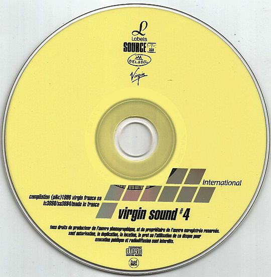 CD sampler INTERNATIONAL hors commerce Virgin Sound 4
