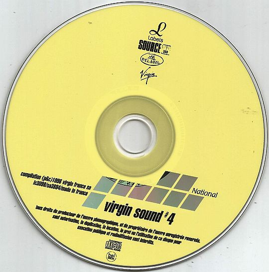 CD sampler NATIONAL hors commerce VIRGIN SOUND 4