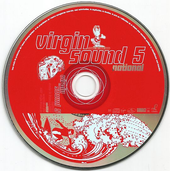CD sampler NATIONAL hors commerce VIRGIN SOUND 5