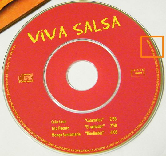 mini CD viva salsa