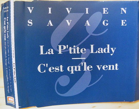 pochette recto du cd single promotionnel vente interdite de Vivien Savage