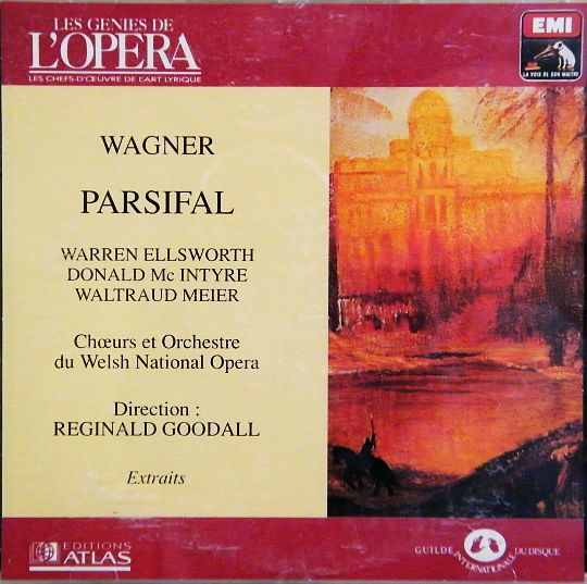 recto Parsifal - Wagner