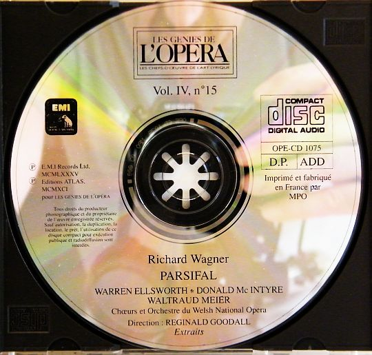 CD Wagner - Parsifal