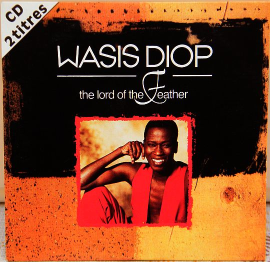 recto du CD promo Collector de Wasis Diop - The lord of the feather