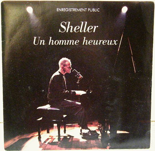 recto du 45 tours Collector promo de William Sheller en public - Un homme heureux
