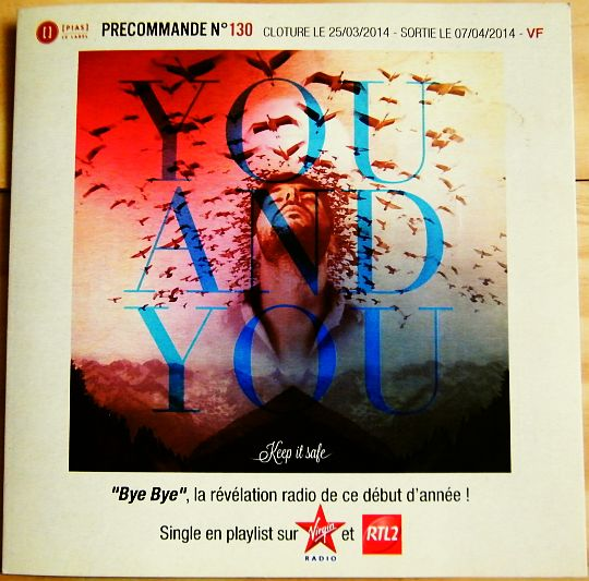 précommande You and You - Bye bye Collector