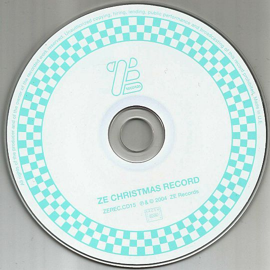 CD sampler promo Ze christmas record reloaded 2004