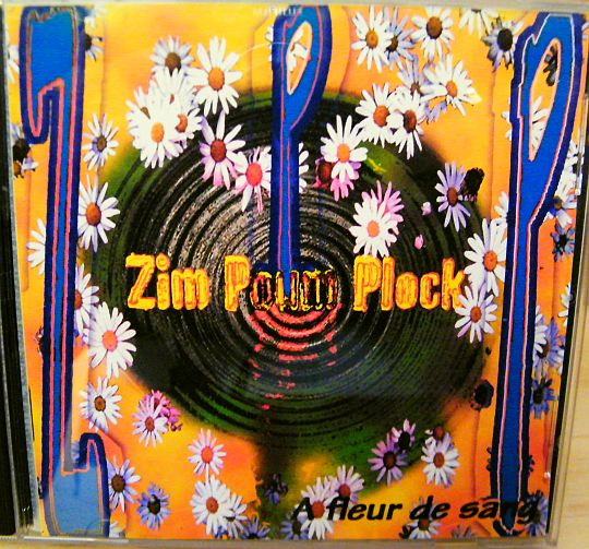 recto du cd collector promo ZPP - A fleur de sang