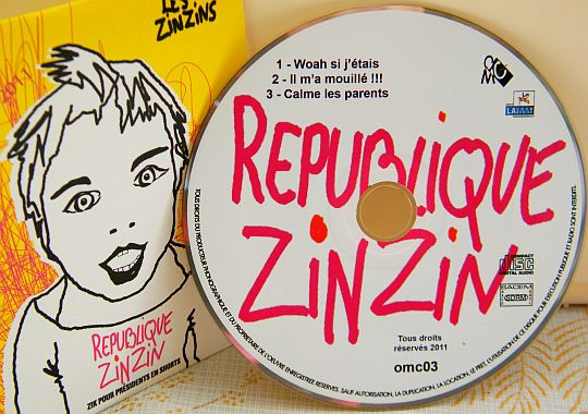 CD sampler Collector des ZINZINS - République Zinzin