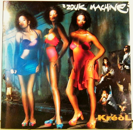 cd collector Zouk Machine - Kréol